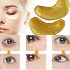 20x (40 pcs) Anti Aging Dark Circle Collagen 24k Gold Eye Patch Pad Mask Bag Gel