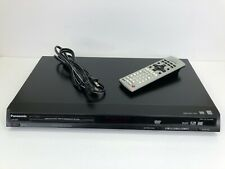 Panasonic DVD-S29 DVD/CD player DVD-RAM Working with Remote