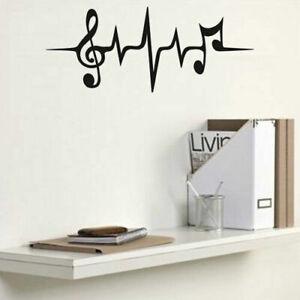 Music Lifeline Heartbeat Decal Sticker Vinyl for Home Window Wall Door Store Act