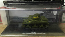 "DIE CAST TANK "" M3 LEE 1st US ARMORED DIVISION TUNISIA 1942 "" ARMORED 059 1/72"