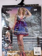 Plus Size 1X-2X Women's Navy Sailor Costume Cosplay Halloween Party Sexy