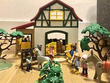 Playmobil Ponyhof 6927 und viel Zubehör! Pflanzen Ponys Figuren! 🌈🙋🏻♂️