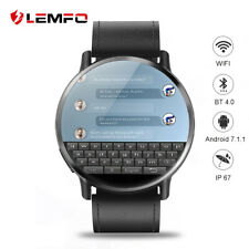 LEMFO LEM X 4G smart watch Android 7.1 GPS WIFI 2.03 inchscreen 8MP Caméra