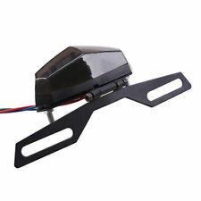 Motorcycle ATV LED Rear Tail Brake Stop Driving License Plate Light Universal