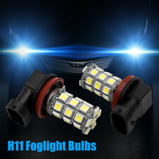 FORD FIESTA H11 FOG LIGHT HID LOOK LEDS 6000K PURE WHITE XENON LOOK MK7 07-12