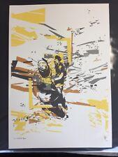 STEFF plaetz frenetica LTS EDIZIONE stampa firmata & non numerati Banksy