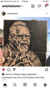 Dan Pena - 50 Billion Dollar Man - as featured on Instagram - Danpena2020