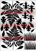CERAKOTE DURACOAT Outdoors Leaves Stencil Mask Sheet Painting Camo Spray