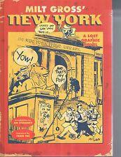 Milt Gross' New York a Lost Graphic Novel Craig Yoe Steranko HC IDW 2015