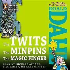 The Twits/The Minpins/The Magic Finger by Roald Dahl (CD-Audio, 2013)