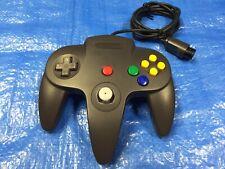 Authentic Nintendo 64 Controller Black OEM Nintendo Brand Tight Stick Original