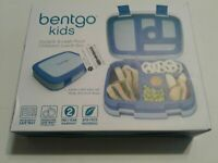 Bentgo Kids Childrens Lunch Box - Bento-Styled Lunch Durable and Leak Proof Blue
