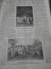 L'utilisation de l'Ivoire Végétal noix de rhôniers Old Print 1911