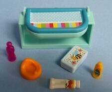 Playmobil Baby Nursery mobilier-Changing Unit/Bath & More-Maison de NEUF
