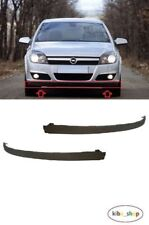 VAUXHALL OPEL ASTRA 2004 - 2007 FRONT BUMPER LOWER SPOILER LIP PAIR LEFT+RIGHT