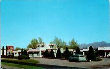 Postcard Kilby Kourt Las Cruces, New Mexico NM S Main St. US Hwy 80 85 Old Car