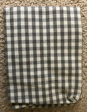 Ikea COVER for LERHAMN Chair seat slipcover - Cover Sagmyra Gray Check