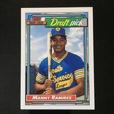 1992 Topps MANNY RAMIREZ Rookie #156  Cleveland Indians