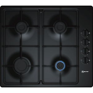 NEFF T26BR46S0 N30 Built In 58cm 4 Burners Gas Hob Black