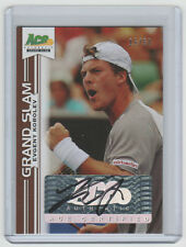 EVGENY KOROLEV Signed 2013 Leaf ACE AUTHENTIC Grand Slam Autograph SP #/50 AUTO