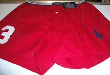 POLO RALPH LAUREN MEN'S CLASSIC FIT BOXER LARGE STYLE #P577 RN RED/N/WHITE NWT