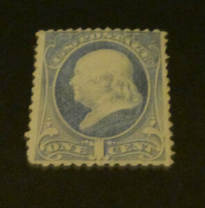# 206 1881 1¢ Franklin Issue  Mint never Hinged  OG