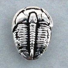 Trilobite Tie Tack, hand crafted sterling silver Elrathia kingi, Delta, Utah