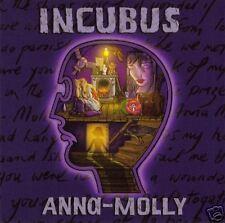 Incubus Anna Molly PROMO DJ RADIO CD Single GREAT ART