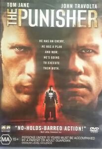 THE PUNISHER DVD Action Crime D JOHN TRAVOLTA - REGION 4 - Marvel Comics!