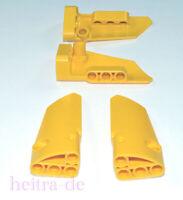 LEGO Technik - 4 x Panel 7x3x2 gelb ( 2 Paare ) Yellow Panel 64683 64391 NEUWARE