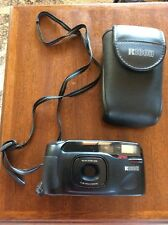 Ricoh tru-zoom super macro f=38-90mm Macro lens point shoot film camera & case