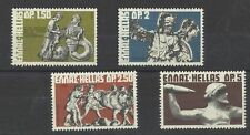 Greece. GREEK MYTHOLOGY I 1972 MNH, Goods : Zeus - Gaia - Athena - Uranus