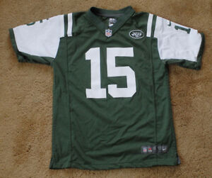 TIM TEBOW 15 New York Jets green jersey size youth L NFL Nike