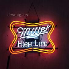 "New Miller High Life Beer Lamp Light Neon Sign 24""x20"""