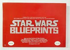 Star Wars Blueprints Celebrating Return of The Jedi 1977 Series