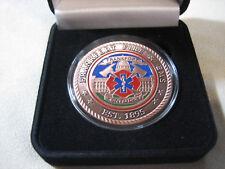 FRANKFORT (Kentucky) FIRE & EMS Challenge Coin w/ Presentation Box