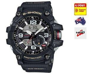 Casio G-Shock Black Twin Sensor Mudmaster GG1000-1A GG-1000-1ADR AU stock