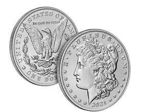 Morgan 2021 Silver Dollar with CC Privy Mark 100th Anv. **PRE-SALE**