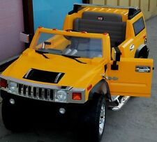 Hummer H2 Kids Ride on Battery Powered Electric Car with Remote Control