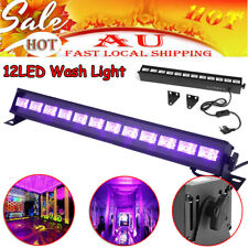 12LED 36W UV Black Light Bar Super Bright Stage Light DJ Party Club Home Decor