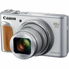 Canon PowerShot Sx740 Hs Digital Camera (Silver) 2956C001