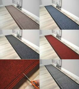 Very Long Hallway Rug Heavy Duty Hall Runner Non Slip Rubber Back Extra Length