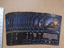 ENDLESS NIGHMARE SEARCH CARDS   /CTHULHU / DEEP MADNESS M320