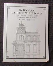 1979 Bicknell's VICTORIAN BUILDINGS Floor Plans & Elevations SC Dover VG+