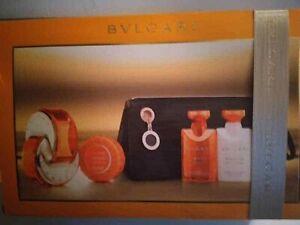 Bvlgari Omnia Indian Garnet 5 PC Gift Set 2.2oz+savon+Body lotion+shower gel NIB