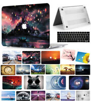 2010-2020 Apple Macbook Pro Air 11 13 15 inch Hard Shell Case Keyboard Cover VY
