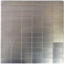 1 sq m blanc brun bleu argent pierre de verre mix mosaïque mur carrelage salle de bains MT0125