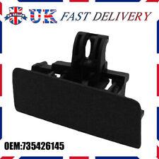 BLACK GLOVE BOX FRONT LID HANDLE CATCH 735426145 FOR FIAT GRANDE PUNTO