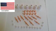 Reboot Rbc 5000d Plasma Cutter Consumables 40pcs Copper Extended Consumables Usa