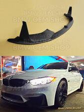 BRAND NEW MATTE BLACK BMW F80 M3 F82 F83 M4 PERFORMANCE TYPE FRONT LIP SPOILER